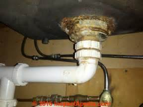 kitchen sink leak repair how to repair a leaky sink strainer drain