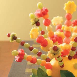 fresh centerpieces fresh fruit centerpiece recipe taste of home