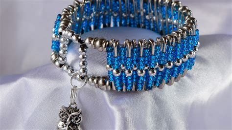 how to make safety pin jewelry how to create a gorgeous safety pin fashion bracelet diy
