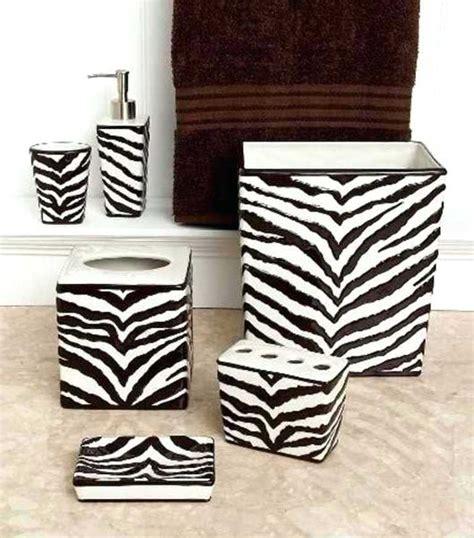 zebra bathroom accessories zebra print bathroom accessories sets bathroom faucet