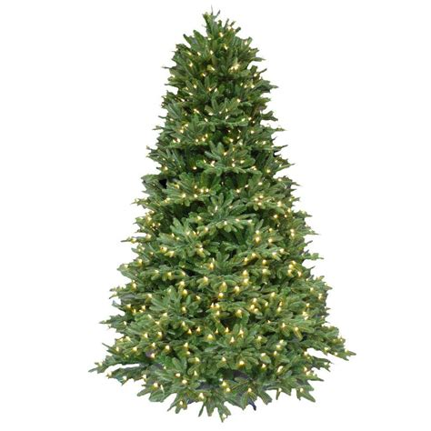 pre lit led trees 7 5 ft pre lit led balsam fir artificial tree