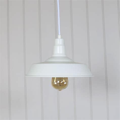 white industrial pendant light white vintage industrial barn style pendant light fitting