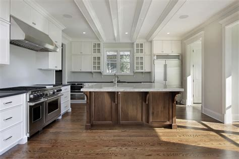 white kitchen wood island 31 quot new quot custom white kitchens with wood islands