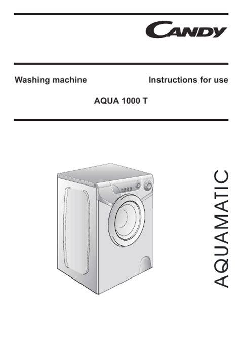 aquamatic 1000t mode d emploi notice d utilisation manuel utilisateur t 233 l 233 charger