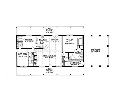 oblong house plans 30x50 rectangle house plans expansive one story i would