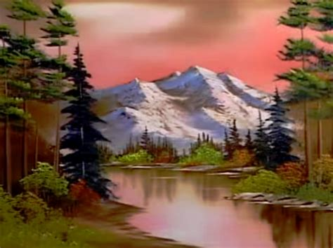 bob ross guest painter season 20 of the of painting with bob ross