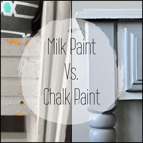 chalk paint vs milk paint chalk paint vs milk paint hashtagblessed