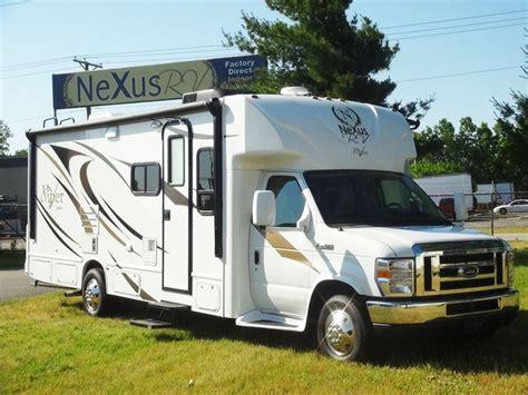 nexus rv floor plans 2013 class b motorhomes by nexus rv see all the new