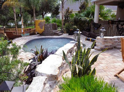backyard makeover with pool triyae backyard with pool makeover various design
