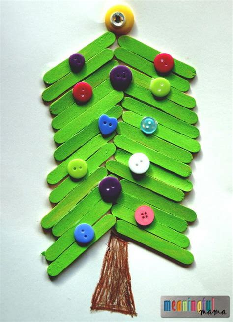 popsicle stick crafts for free popsicle stick tree craft for
