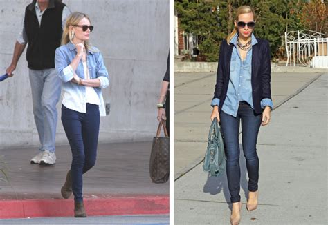 wearing lights q a how to wear a denim shirt 7 different ways lena