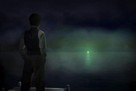 looking at lights the green light the great gatsby by kriset on deviantart