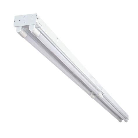 led lights white envirolite 8 ft 4 light white industrial led white