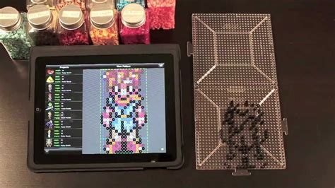 bead it hd chrono trigger heroes perler bead sprite using bead it hd