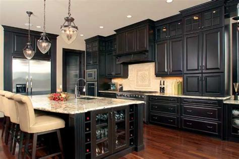 pics of kitchens with black cabinets kitchen ideas white cabinets black appliances 2017