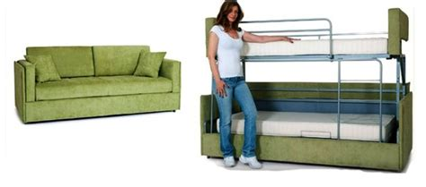 sofa bed that turns into bunk beds coupe sofa turns into a comfy bunk bed in just 14 seconds