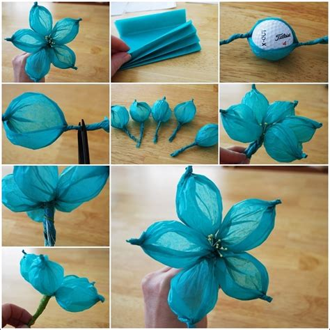 flower paper crafts diy paper flower tutorial step by step