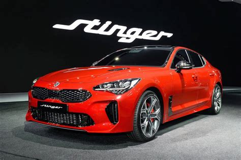 A Kia by Kia Stinger Official 0 100km H Power Outputs Confirmed