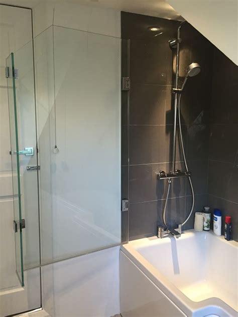 Over Bath Shower Enclosures over bath shower screens made to measure bespoke bath