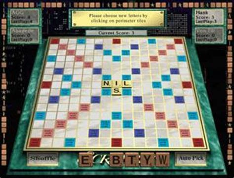 scrabble with computer opponent scrabble pc mac cd create score points for word letters