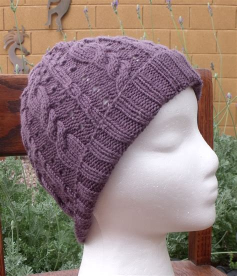 knitted or knit knitting patterns free hats images