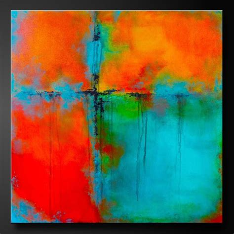 acrylic painting canvas 25 best four square ideas on cut block baby