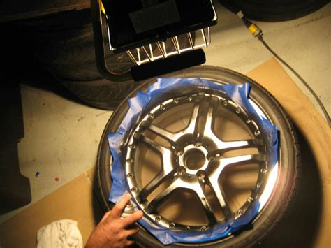 spray paint rims budget auto diy hack how to spray paint your rims