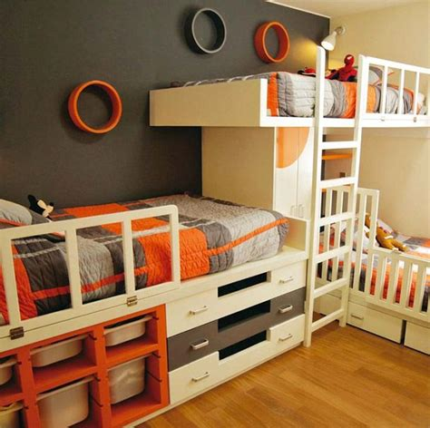 three way bunk bed 25 best ideas about triplets bedroom on 3
