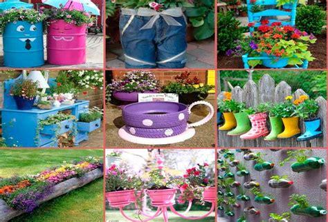 juegos de decorar jardines c 243 mo decorar el jard 237 n con materiales reciclados