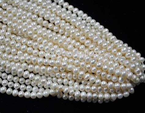 pearl wholesale aa 50 strands white 5 6mm freshwater pearl wholesale free