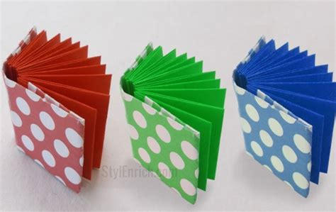 how to make origami with notebook paper diy project idea how to make origami mini notebook by