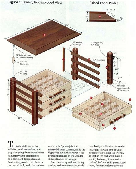 free woodworking plans jewelry box 29 box woodworking plans egorlin