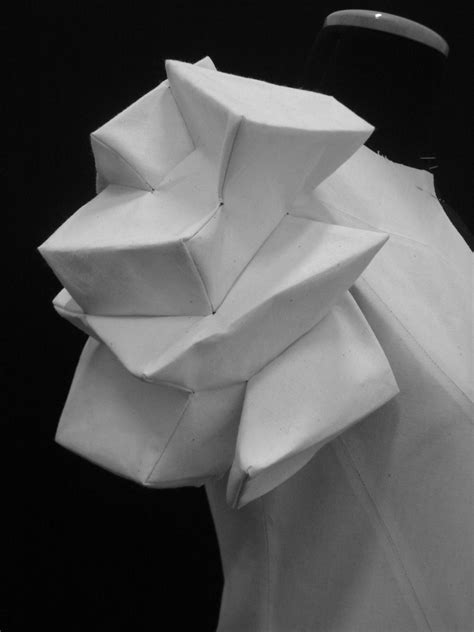 origami sleeves the strapless cookie origami fashion