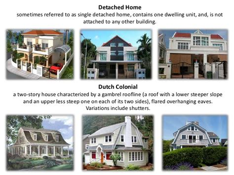 Gambrel Roof Homes types of house