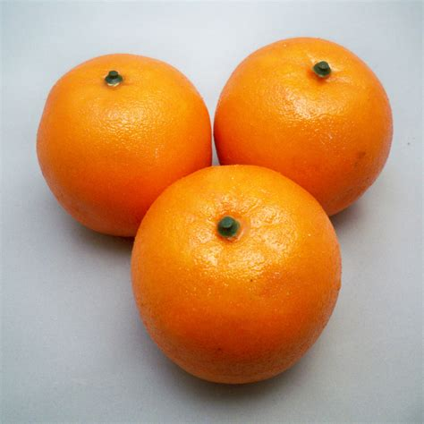 decorative fruits 3 artificial oranges decorative fruit se ebay