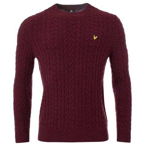lyle and cable knit jumper cable knit jumper lyle circa