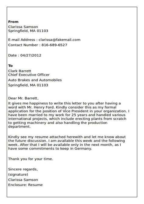 cover letter examples and tips