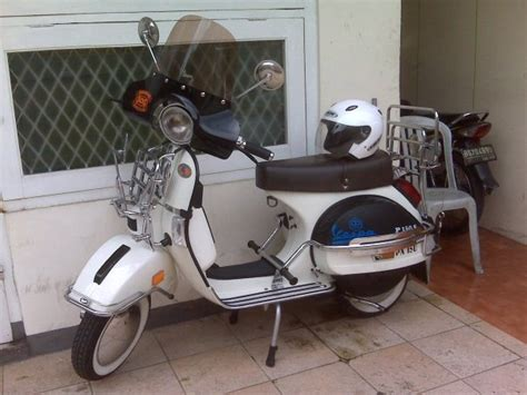 Modifikasi Vespa Px Sport by Pin Modifikasi Vespa Px On