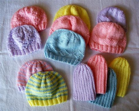 Knit Some Preemie Hats For Charity The Spinners Husband