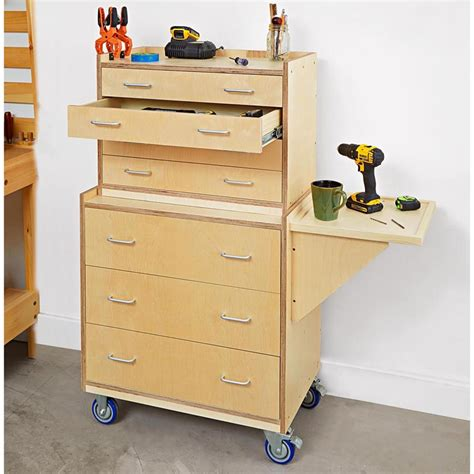 woodworking tool storage plans tool chest woodworking plan from wood magazine