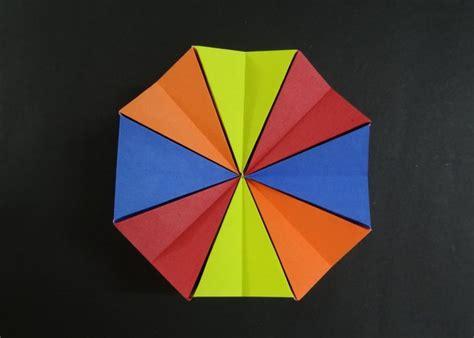 how to make a origami magic circle origami toys tutorial how to fold origami magic circle