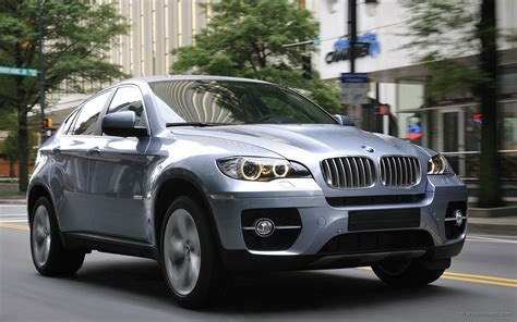 Car Wallpapers Bmw X6 by 2010 Bmw X6 Activehybrid Wallpaper Hd Car Wallpapers
