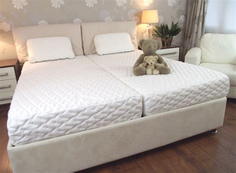 king size bed with 2 mattresses bed mattress