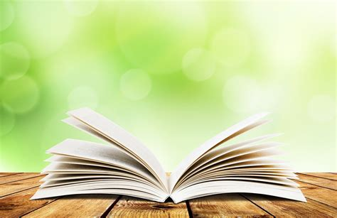 Open Book Background