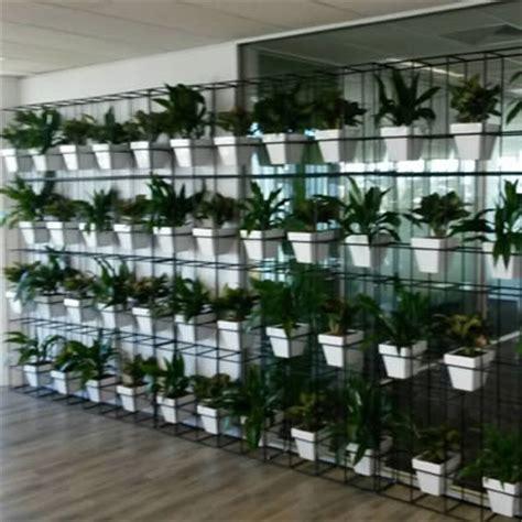 garden wall pots pot plant vertical garden tropical plant rentals