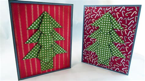 how to make a tree card origami tree card tutorial