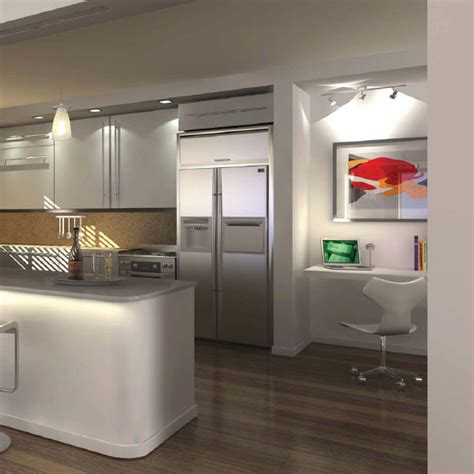 condominium kitchen design home office renovation contractor condo kitchen design