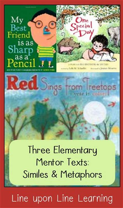 picture books with similes similes and metaphors simile and picture books on