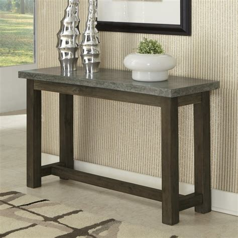 pictures of sofa tables shop home styles concrete brown gray acacia rectangular