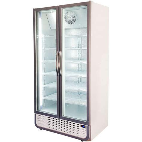 glass door bar fridge husky commercial upright glass door bar fridge 795l buy